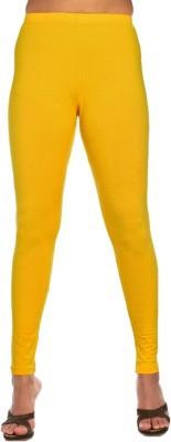 Rasi Silks Women's Yellow Leggings