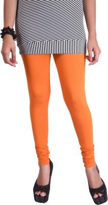 WellFitLook Women's Orange Leggings