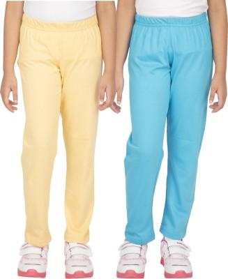 Ocean Race Girl's Yellow, Blue Leggings