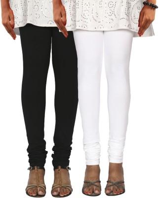 Poliss Women's Black, White Leggings