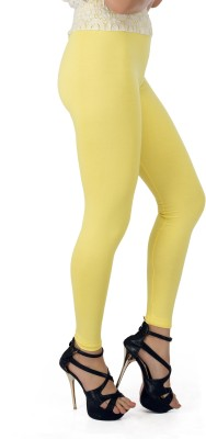 Legrisa Fashion Women's Yellow Leggings