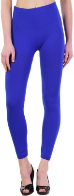 Wake Up Competition Women's Blue Leggings