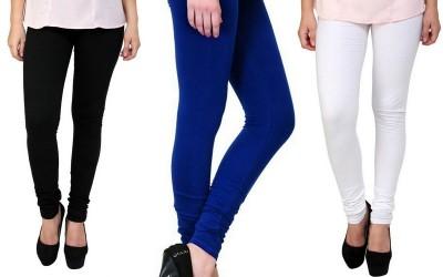 S Redish Women,s Black, Blue, White Leggings