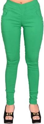 LGC Women's Green Jeggings