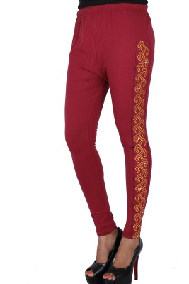Gagrai Ecom Women's Maroon Leggings