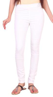 FCK-3 Women's White Jeggings