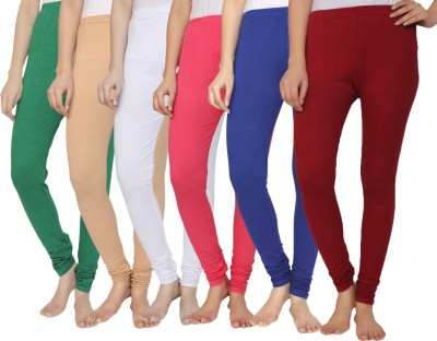 Krazy Katz Women's Multicolor Leggings
