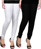 WCTrends Women's Black, White Leggings (...