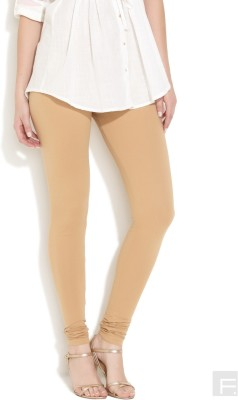 Vita Elegante Women's Beige Leggings