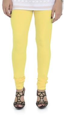 Vami Women's Yellow Leggings