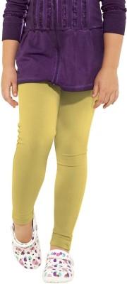 Go Colors Baby Girl's Yellow Leggings