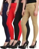 Jainish Women's Black, Red, Beige, Dark ...