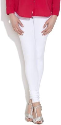 Vita Elegante Women's White Leggings