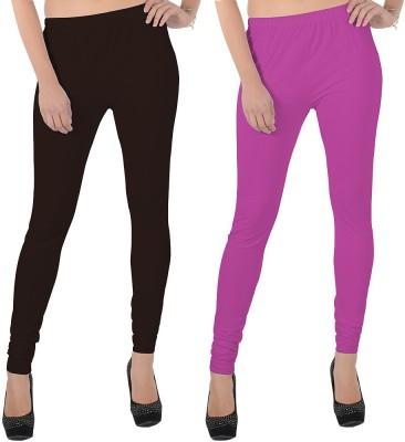 X-Cross Women's Brown, Pink Leggings
