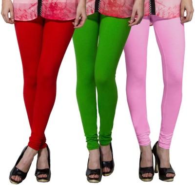 Both11 Women's Red, Green, Pink Leggings