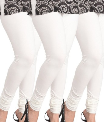 divinecreations Women's White Leggings