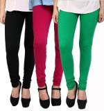 Lakos Women's Multicolor Leggings (Pack ...