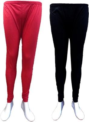 Vanya Enterprises Women's Black, Red Leggings