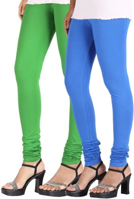 Greenwich Women,s Green, Blue Leggings