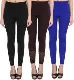 NumBrave Women's Black, Brown, Blue Legg...