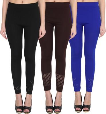 NumBrave Women's Black, Brown, Blue Leggings