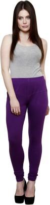 Pistaa Women's Purple Leggings