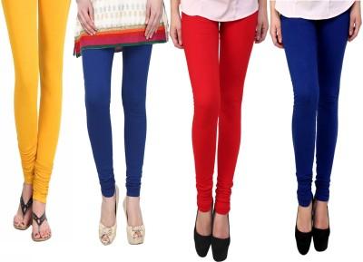 Vastra Buzz Women's Blue, Yellow, Red, Dark Blue Leggings