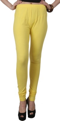 C/Cotton Comfort Women's Yellow Leggings