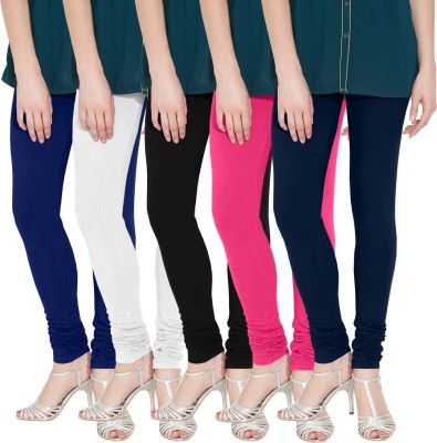 Nicewear Women's Blue, White, Black, Pink, Blue Leggings