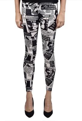 Saffora Fashion Women's Multicolor Leggings