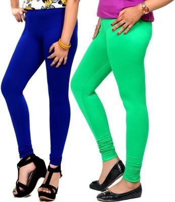 By The Way Women's Blue, Green Leggings