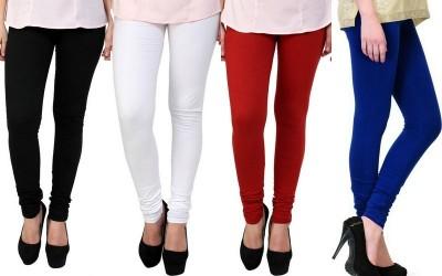 S Redish Women,s Black, White, Blue, Red Leggings