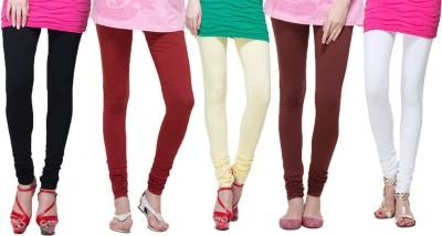 Visach Women's Multicolor Leggings