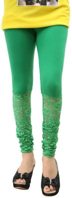 Fashionkala Women's Green Leggings