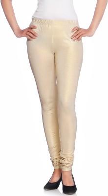 Vanita Women's Gold Leggings