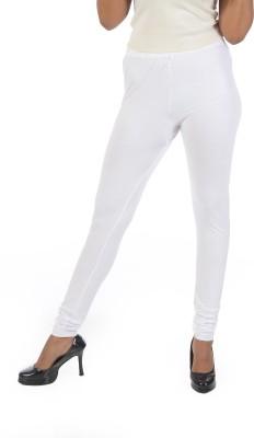 Crezyonline Women's White Leggings