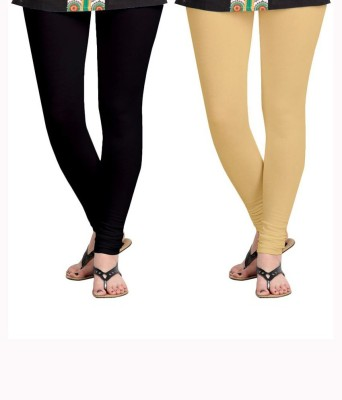 KANNAN Women's Black, Beige Leggings
