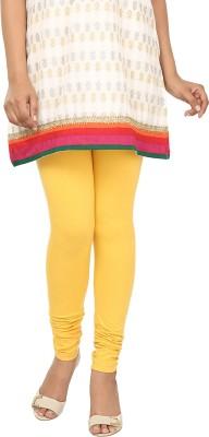 Agrima Fashion Women's Yellow Leggings