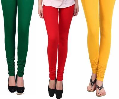 Vastra Buzz Women's Yellow, Red, Green Leggings