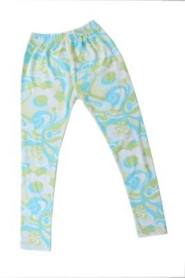 Earth Conscious Girl's Green Leggings