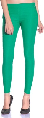 Styleava Women's Green Jeggings