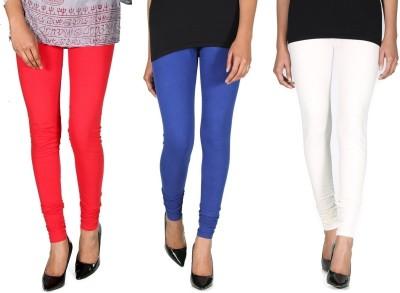 Ally Of Focker Women's Red, Blue, White Leggings