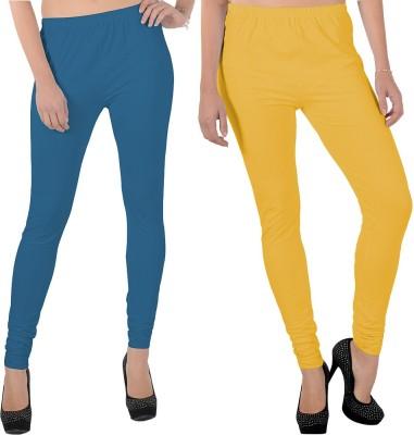 X-Cross Women's Blue, Yellow Leggings