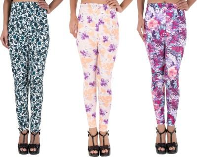 Elegante Women's Multicolor Jeggings