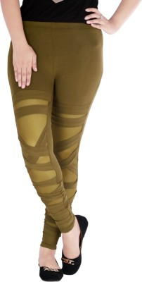 Caricature Clothing Women's Green Leggings