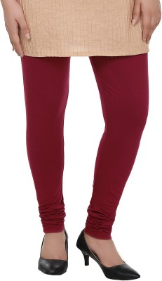 Dlina Women's Maroon Leggings