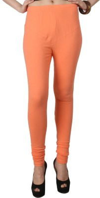 C/Cotton Comfort Women's Orange Leggings