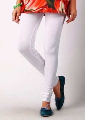 Sudharaj Women's White Leggings