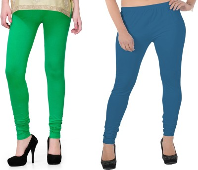 Kvell Be Proud Women's Green Leggings