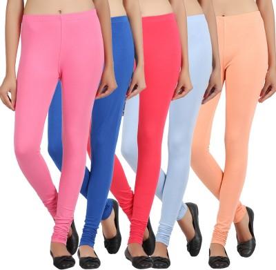 SEWN Women's Pink, Dark Blue, Light Blue, Beige Leggings